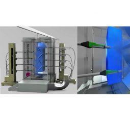 3D形状認識機能搭載新世代型粉体塗装システム